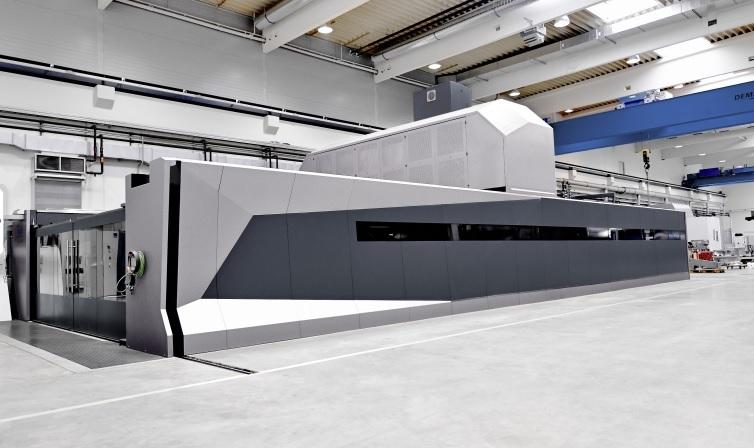 80 kW machining center