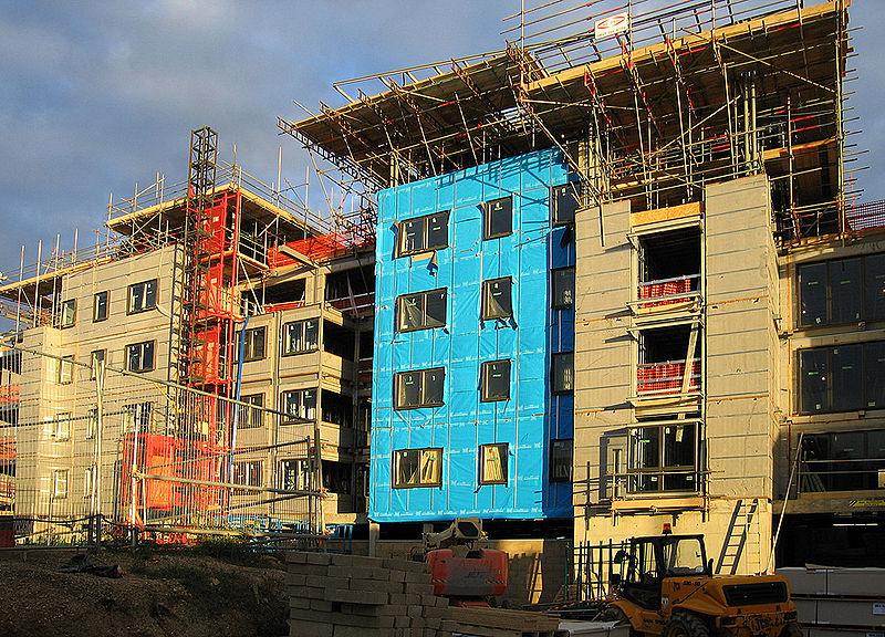 Nieuwbouw met isolatie