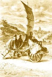 Sailing wheelbarrow 2