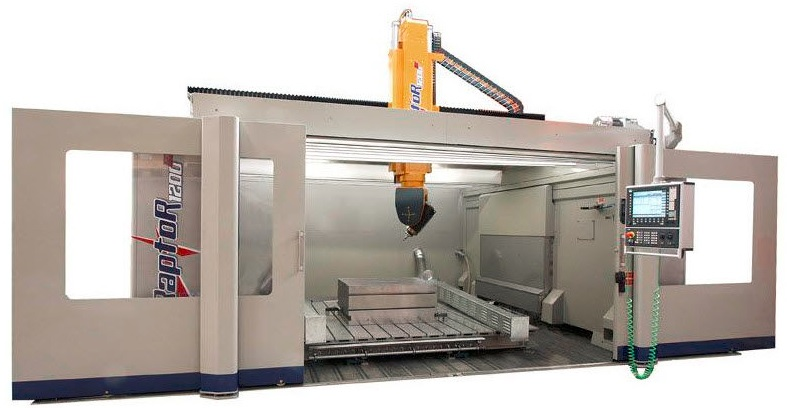 Room sized cnc milling machine