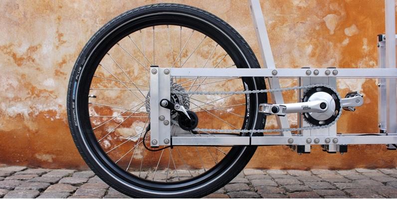 Modular bike detail