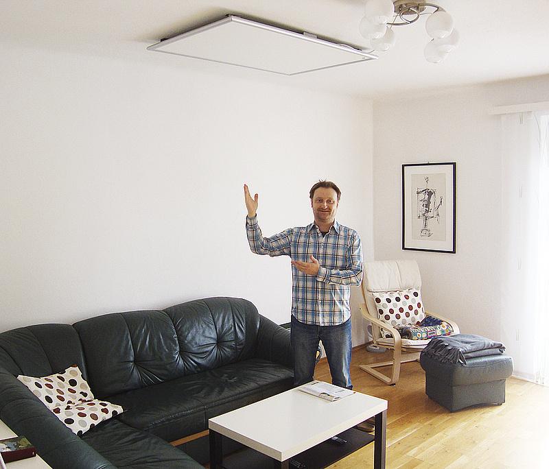 Infraroodverwarming easytherm plafondmontage