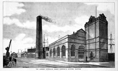 The london hydraulic power company station wapping