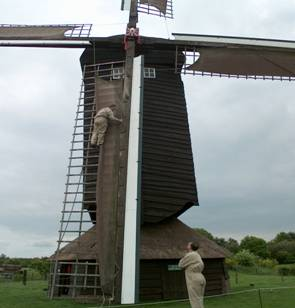 Miller climbs the sail source dagboek van een molenaar