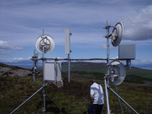 Tegola project low-tech internet