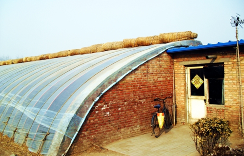 Chinese solar greenhouse 1