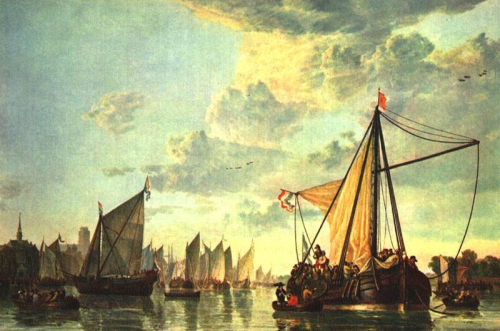 Aelbert_Cuyp_-_The_Maas_at_Dordrecht_-_WGA5836