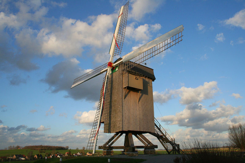 Windmolen in belgie