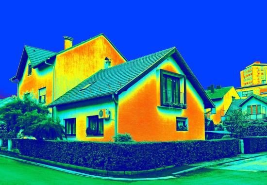 Thermogram huis