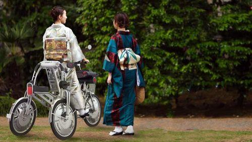 Scooter kimono