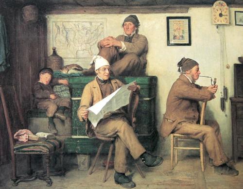 Anker_Die_Bauern_und_die_Zeitung_1867