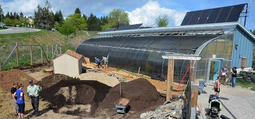 Passive solar greenhouse canada