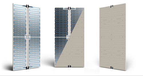 Ray magic hydronic heating panels