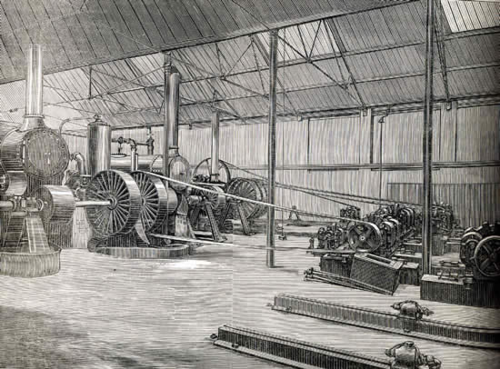 Early power station