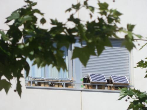 solar powered apartment off-grid
