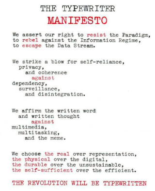 The-typewriter-manifesto