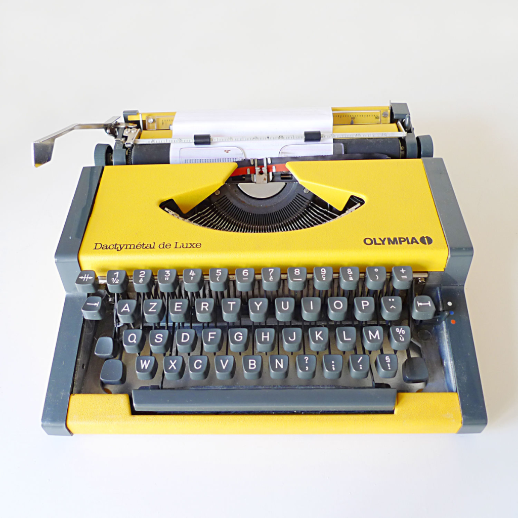 Why the Office Needs a Typewriter Revolution - Resilience