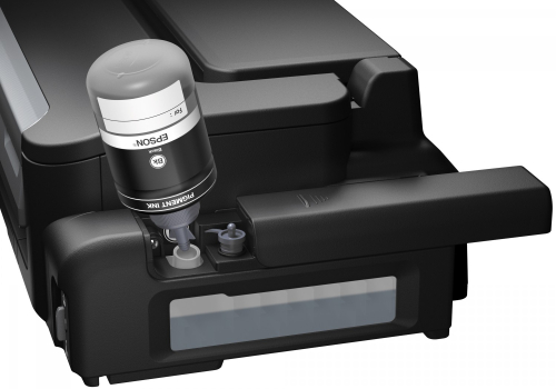 Epson workforce inkjetprinter met reservoir