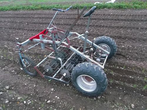 Culticycle pedal powered tractor 2
