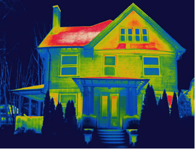 Infrared image building