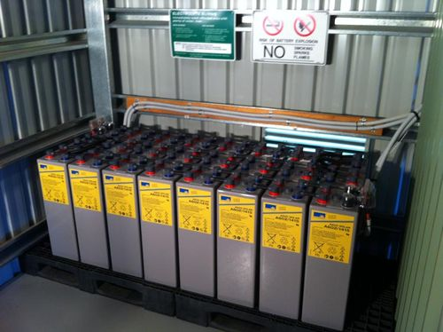 Lead acid battery storage