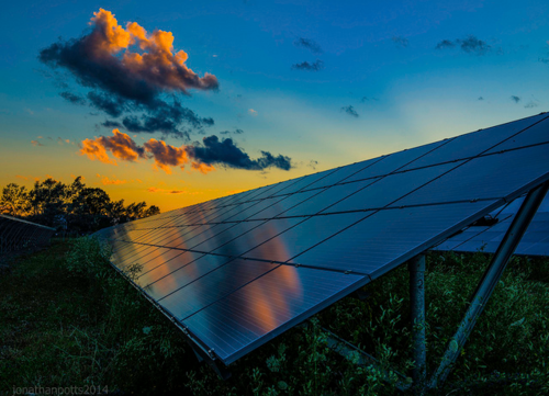 How sustainable is pv solar power