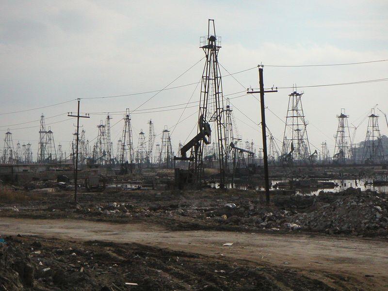 Leeg olieveld