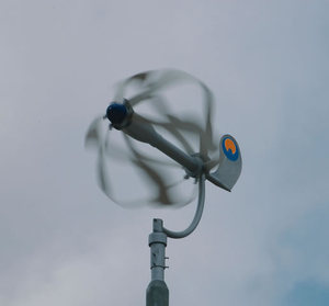 Urban windmill energy ball