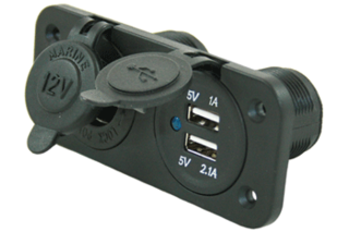 12 volt stopcontact