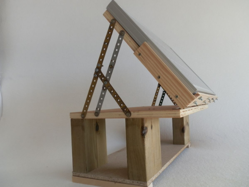 how to get the proper angle for a window sill