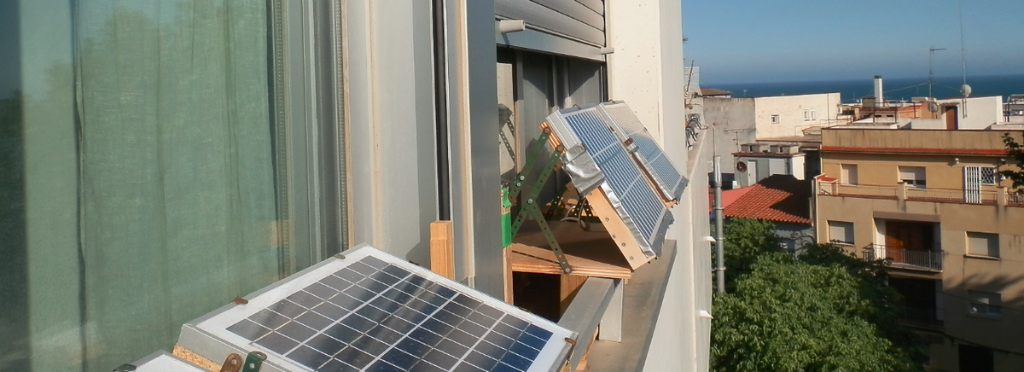 Off The Grid Apartment Solar Panels On Window Sills