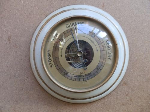 vintage barometer solar PV system