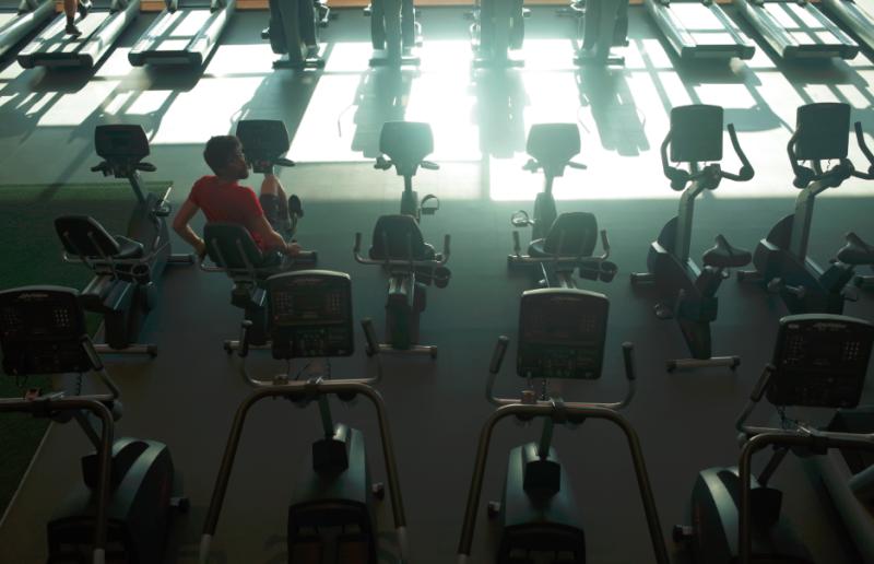 Fitnesscentrum of energiecentrale