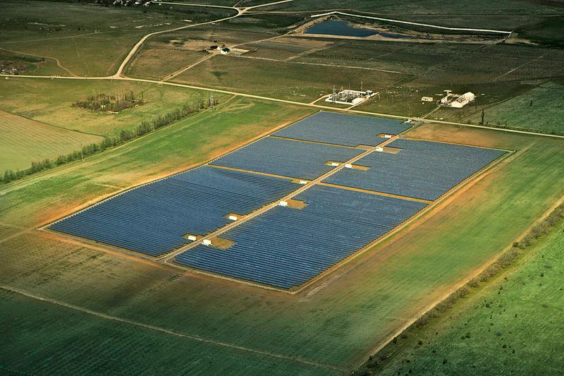 Zonnepark in oekraine hoeveel plaats nodig voor zonnepanelen
