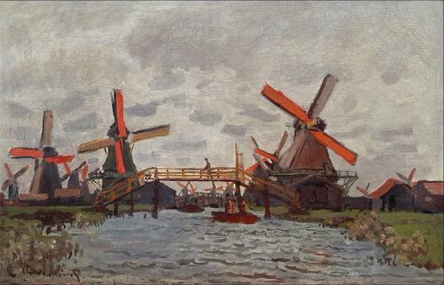 Claude monnet mills