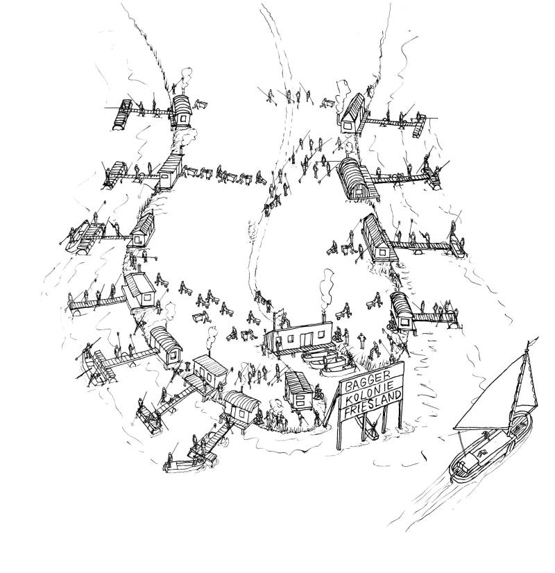 Baggerkolonie friesland