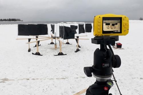 Prototype windturbine ice bearings