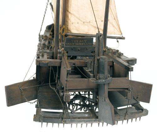 Krabbelaar scheepsmodel