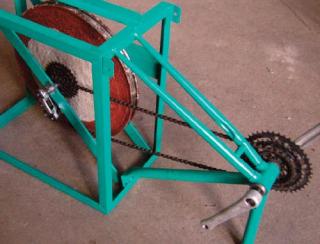 Chassis and flywheel mayapedal