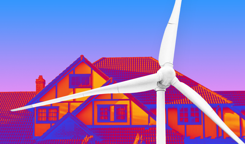 Heat generating windmill rona