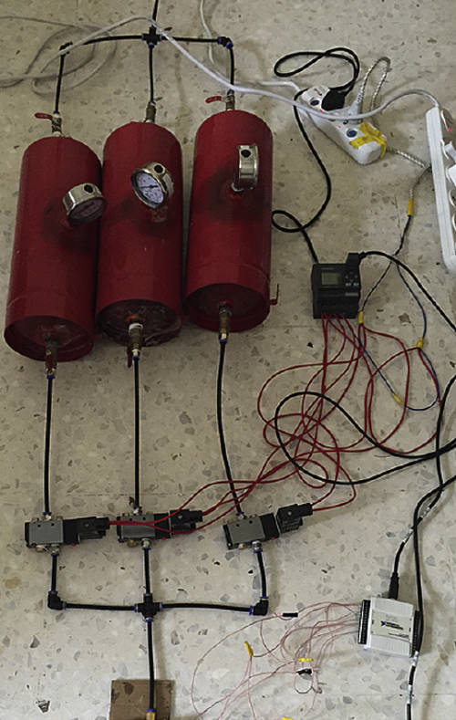 Modulair-perslucht-batterij