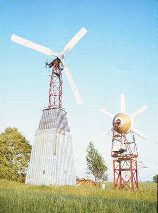 heat generating windmills