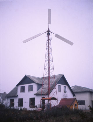 heat generating windmill 1975