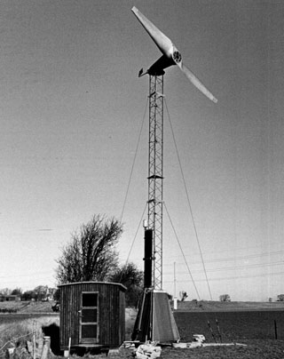 Heat-generating-windmill-water-brake