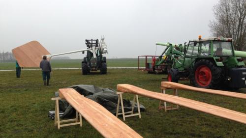 Installatie-windturbine
