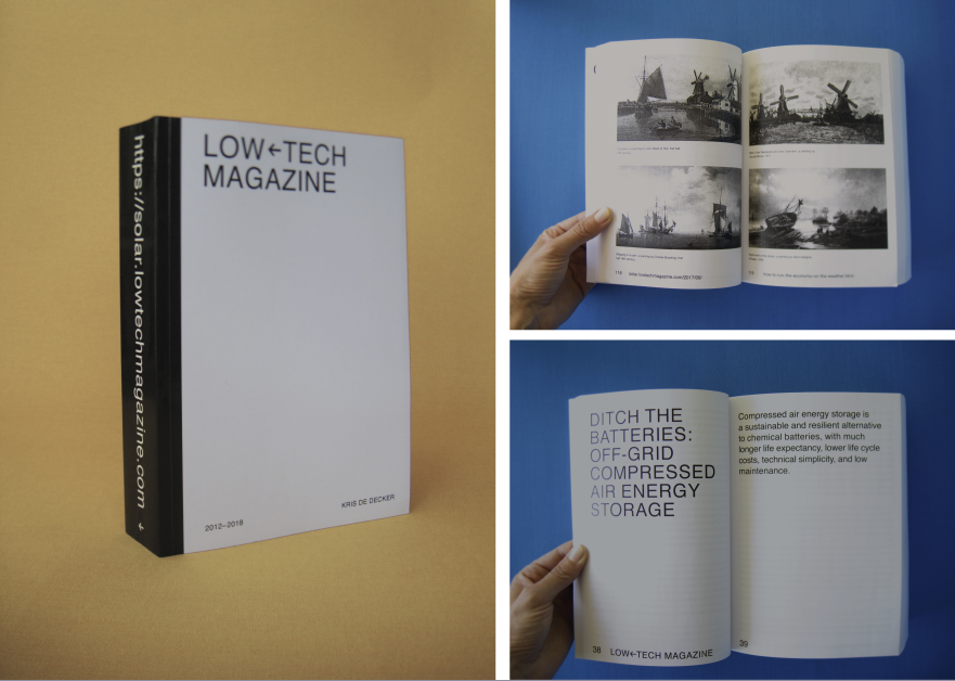 Low-tech Magazine: The Printed Website - LOW-TECH MAGAZINE