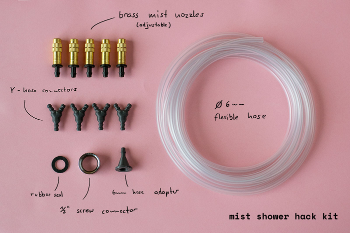 Mist-shower-hack-kit