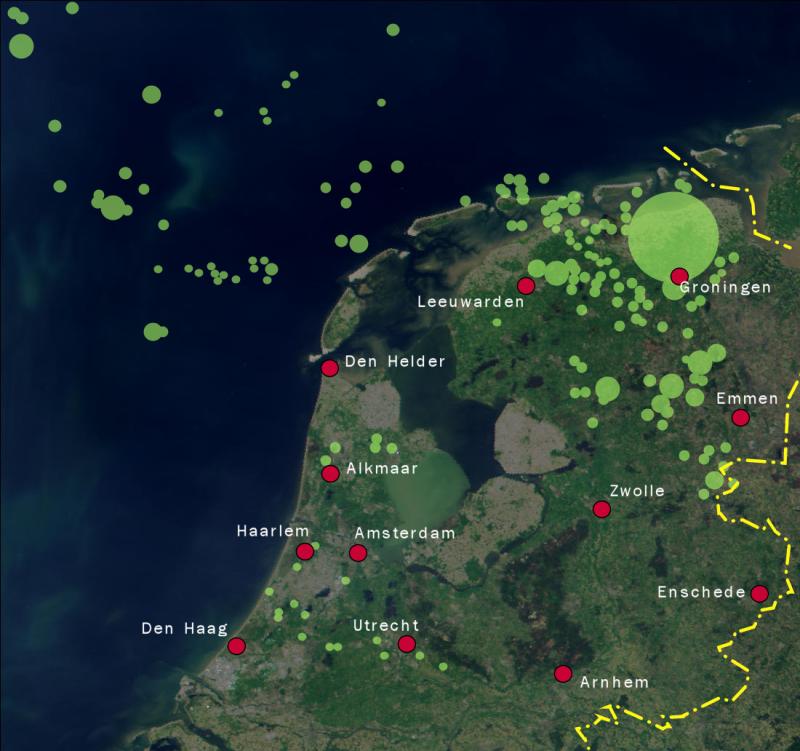 Aardgasvelden nederland