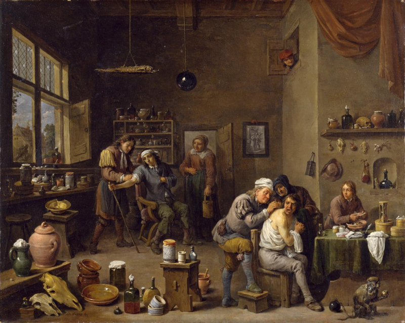 The_Surgeon_by_David_Teniers_the_Younger _1670s
