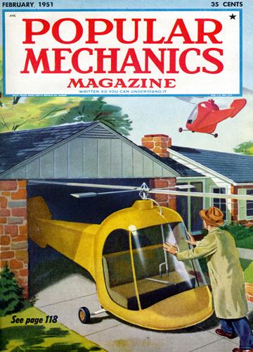 popular mechanics februari 1951